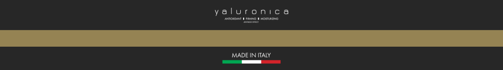 Yaluronica Logo & Made in Italy
