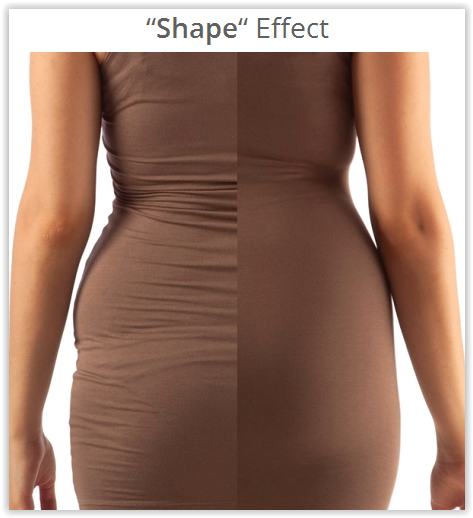 Yaluronica Shape Effect