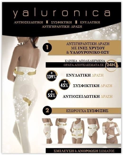 Yaluronica, shape & antiaging wear
